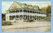 Buy CT New Haven Coxs Hotel Savin Rock View Of Large Hotel w/Old Car Out Front~635