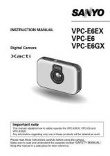 Buy Sanyo VM-RZ2R Operating Guide by download #169697