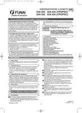 Buy Funai 25A-250HC2C0ED(IT) Manual by download #160917