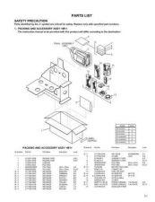 Buy JVC GR-SXM49 part Service Schematics by download #155841
