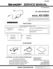Buy Sharp ADUSB1 SM GB Manual by download #178953