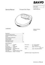 Buy Sanyo SM5810356-00 03 Manual by download #176950