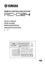 Buy Yamaha RC-SREV1E Operating Guide by download Mauritron #205160