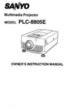 Buy Sanyo PLC-700MP Manual by download #174707