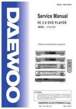 Buy DAEWOO SM DV-K985 e (E) Service Data by download #146670