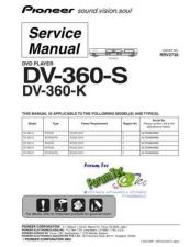 Buy PIONEER DV-360-S Service Manual by download Mauritron #193596