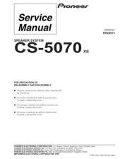 Buy PIONEER R2071 Service Data by download #153108