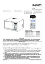 Buy Sanyo Service Manual For EM-G76 Manual by download #175821