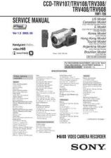 Buy SONY CCD-TRV34 Service Manual by download #166538