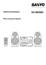 Buy Sanyo DC-F430AV Operating Guide by download #169185