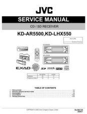 Buy JVC KD-LHX550 Service Schematics by download #156116