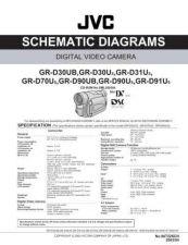 Buy JVC GR-D91US sch Service Schematics by download #155630