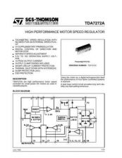 Buy MODEL TDA7272A Service Information by download #124775