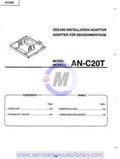 Buy Sharp ANC20T-001 Manual by download #179285