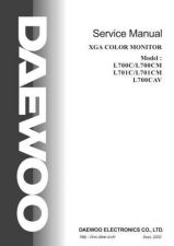 Buy Daewoo L700C Manual by download Mauritron #184615
