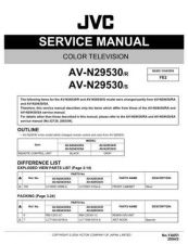 Buy JVC AV-N29530 Service Schematics by download #155424