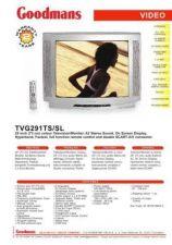 Buy GOODMANS TVG291TS SL by download #125644