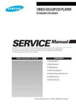Buy SAMSUNG DV-5620KV DV-4620V Service Data by download #133427