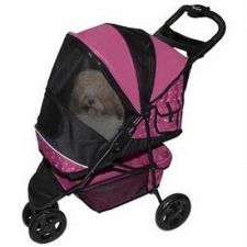 Buy Pet Gear Special Edition Pet Stroller Raspberry