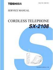Buy TOSHIBA SX 2108 Service Schematics by download #160484