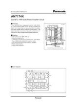 Buy INTEGRATED CIRCUIT DATA AN7176KJ Manual by download Mauritron #186515