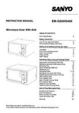 Buy Sanyo EM-FL80 Manual by download #174292
