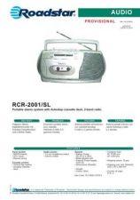 Buy ROADSTAR RCR-2001 SL by download #128422