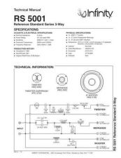 Buy INFINITY RS 5001 TS Service Manual by download #147686