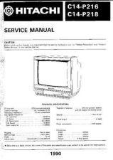 Buy Hitachi C1414R Manual by download Mauritron #185913