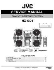 Buy JVC HX-GD8J Service Schematics by download #155983
