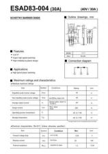 Buy SEMICONDUCTOR DATA ESAD83-004J Manual by download Mauritron #188073