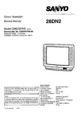 Buy Sanyo 28DN2 SM-Only Manual by download #172648