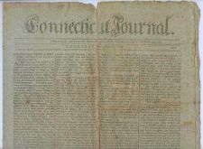 Buy CT New Haven Newspaper Title: Connecticut Journal Date: Nov-22-1798~12