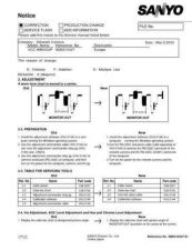 Buy Sanyo VCC-9624(Owners Manual) Manual by download #177388