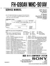 Buy SONY F-V350P Service Manual by download #166828