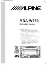 Buy ALPINE MDAW750 MANUAL by download #125380