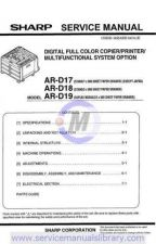 Buy Sharp ARD21-D22 PG GB(1) Manual by download #179552