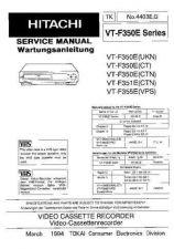 Buy HITACHI No 4403E Service Data by download #147318