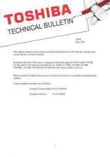 Buy TOSHIBA TECH BULLETIN AH43 by download #131990