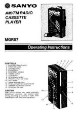 Buy Sanyo MGR400D Operating Guide by download #169430