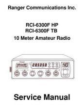Buy Ranger MAN6300F Manual by download Mauritron #203617
