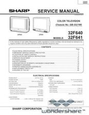 Buy Sharp 32F640-641 Manual.pdf_page_1 by download #178236