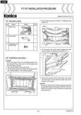 Buy Konica FT107 Service Schematics by download #135576