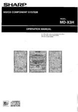 Buy SHARP MDX3 MANUAL by download #128781
