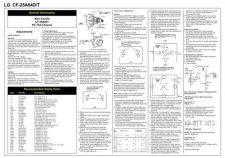 Buy Goldstar CF25A64D Schematics plus by download #147135