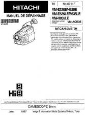 Buy HITACHI No 6714F Service Data by download #147369