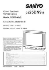 Buy Sanyo CE25DN9-B-01 SM Manual by download #173051
