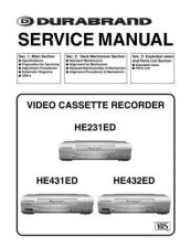 Buy Funai HE231 431 432ED SERVICE MANUAL Manual by download #162664
