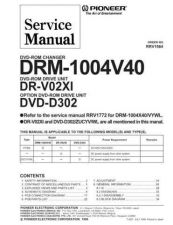 Buy PIONEER R1984 Service Data by download #153068