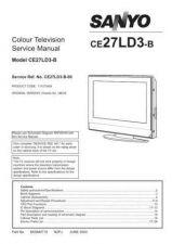 Buy Sanyo CE27LD3-B-00 SM Manual by download #173078